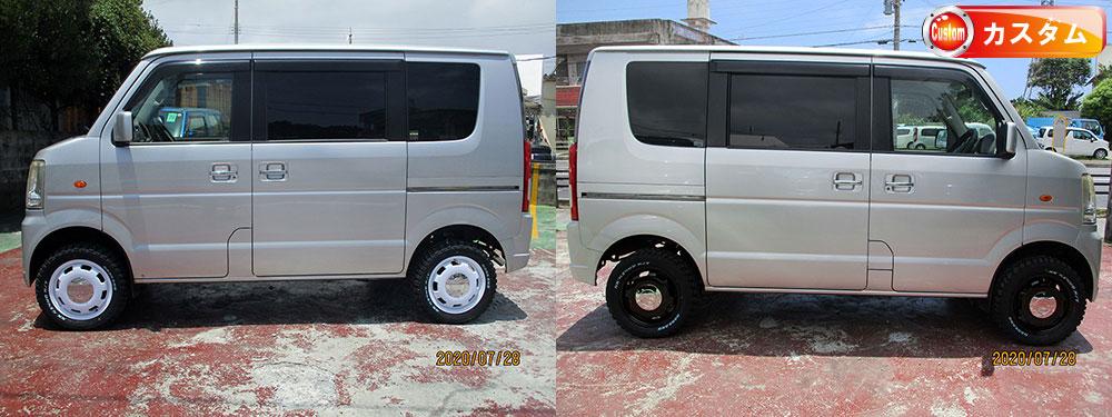 ●社外14インチアルミ(新品)●新品MTタイヤ(165-14)